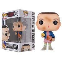 Funko POP! TV Stranger Things Eleven with Eggos Action Figure Collectible Toy