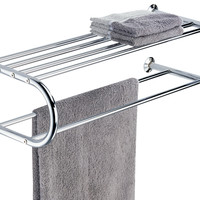Shelf W/Towel Rack