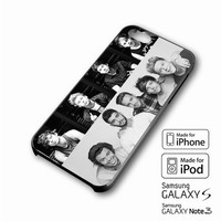 5sos + 1D one direction photos collage boys iPhone case 4/4s, 5S, 5C, 6, 6 +, Samsung Galaxy case S3, S4, S5, Galaxy Note Case 2,3,4, iPod Touch case 4th, 5th, HTC One Case M7/M8