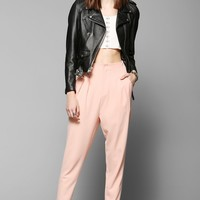Pins And Needles High-Waist Pleated Trouser Pant - Urban Outfitters