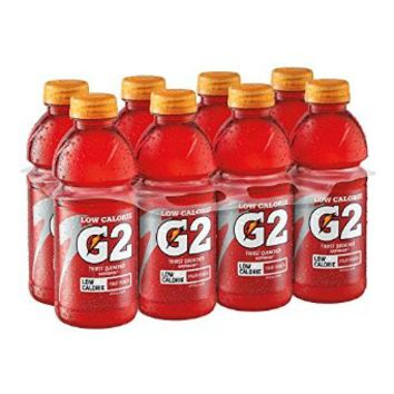 Gatorade Thirst Quencher G2, Fruit Punch, 20 Ounce (Pack of 8)