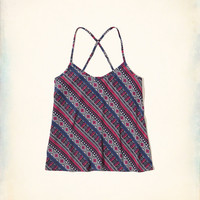 Girls Must-Have Easy Woven Cami | Girls Tops | HollisterCo.com