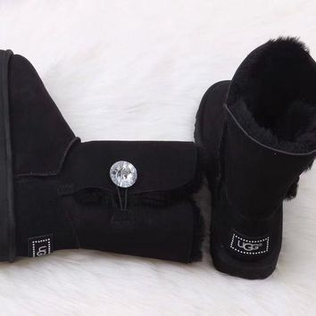 UGG Women Fashion Wool Snow Boots