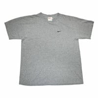 Vintage 90s Embroidered Nike Swoosh Shirt Made in USA Mens Size Medium - Default Title