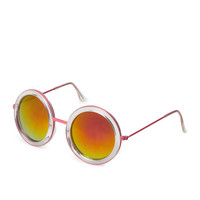 F4294 Quirky Round Sunglasses   FOREVER21 - 1000064294