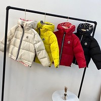 Moncler Children's clothing Baby's Sets Boys Girls Fashion Casual Loose Hooded Cardigan Jacket Coat