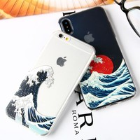 Ukiyoe Wave iPhone Case For XS MAX XR 6S 6 7 8 Plus