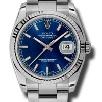 Rolex Datejust Mens Automatic Watch 116234BLSO