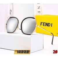 FENDI Popular Woman Men Casual Summer Sun Shades Eyeglasses Glasses Sunglasses 2#