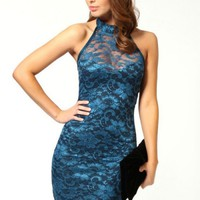 Blue Sweetheart Lace