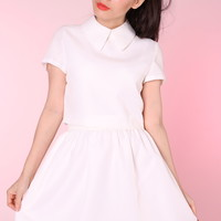 Glitters For Dinner — Made To Order - All White Clueless Collared Top