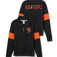 Oregon State University Bling Half-Zip Pullover