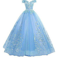 Quinceanera Dress 2021 New Prom Dress Yellow Ball Gown Sweet Floral Print Quinceanera Dresses Robe De Bal Custom Size