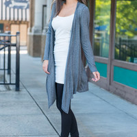 Turn To Cardigan, Charcoal