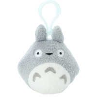 My Neighbor Totoro Blue Clip-On Plush