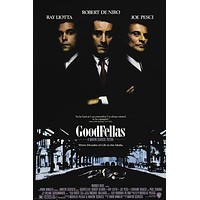 GOODFELLAS classic movie poster ITALIAN MAFIA murder corruption PRIZED 24X36
