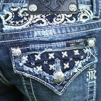 Pearl Girl Bootcut Jeans by Miss Me