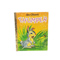 Walt Disneys Thumper, Vintage Little Golden Book, Bambi, Bunny Illustrations, Rabbits, Animal Pictures, Easter Display, Nursery Room Decor