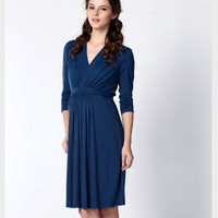Gorgeous Evening and Office Maternity / Breastfeeding Dress