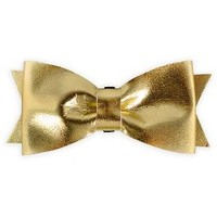 Metallic Gold Bowtie Cat or Dog Collar