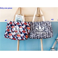 ADIDAS fashion hot seller for women with contrasting colors printed shopping shoulder bag