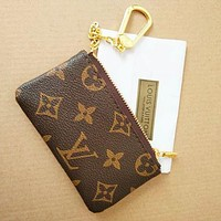 LV Tide brand classic models women's fashion zipper coin purse key case