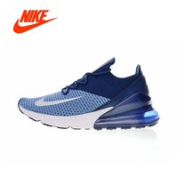 Original New Arrival Authentic Nike Air Max 270 Flyknit Men's Comfortable Running Shoes Sport Outdoor Sneakers AO1023-400