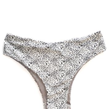 Gray Leopard Seamless High Rise Bottoms