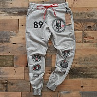 89th Intel Squadron Yard Sweats Grey