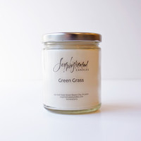 Green Grass Soy Candle