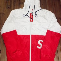 Sports Hot Deal On Sale Alphabet Embroidery Windbreaker Double-layered Baseball [15192031251]
