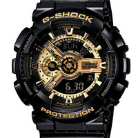 G-Shock Baby G Mens X Large Black and Gold Combi Watch