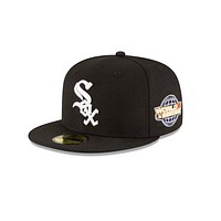 """New Era """"Chicago White Sox"""" 2005 World Series Grey Bottom 59Fifty Fitted Hat"""