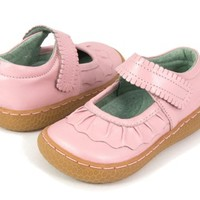 Livie & Luca. Livie and Luca Ruche Rose Light Pink Shimmer, Berry Styles Kids Shoes