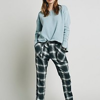 Free People Womens Relaxed Slim Utility Pant