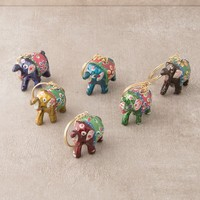 Hand Painted Haathi Keychains