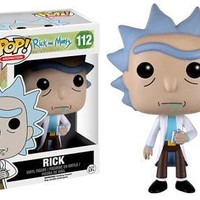 Funko Pop Animation: Rick and Morty - Rick Vinyl Figure