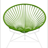 Innit Innit Chair White Frame With Cactus Weave