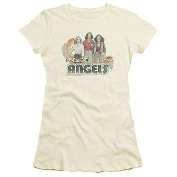Charlies Angels I Believe in Angels Juniors T-Shirt