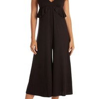 Midnight Bakery Iggy Cropped Jumpsuit | Nordstrom