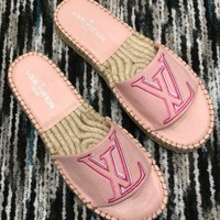 Louis Vuitton LV Women's LV Letter Fisherman Slipper