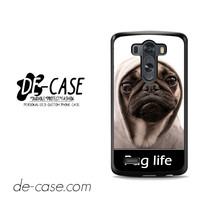 New Design Funny Hilarious Pug Life Parody Fans For LG G3 Case Phone Case Gift Present