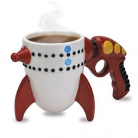 Big Mouth Toys The Retro Ray Gun Rocket Mug
