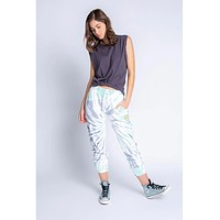 Smiley Daydream Tie Dye Jogger