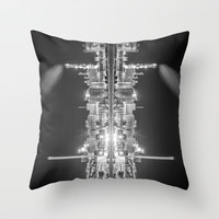 What do you see II Throw Pillow by HappyMelvin