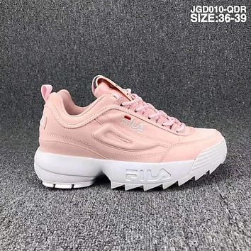 FILA SHOES Running Sport Casual Shoes Sneakers F Pink