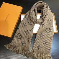 LV Louis Vuitton Woman Men Popular Casual Accessories Cape Scarf Scarves I-TMWJ-XDH