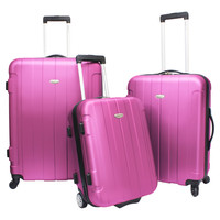 Traveler's Choice Rome 3-piece Hardside Spinner Luggage Set | Overstock.com Shopping - The Best Deals on Three-piece Sets