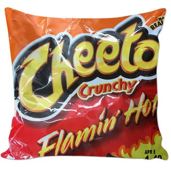 Hot Cheetos pillow