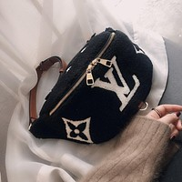 LV autumn and winter new women's waist bag shoulder bag